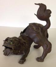 Asian Bronze Foo dog