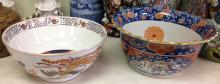 2 Asian paint decorated bowls