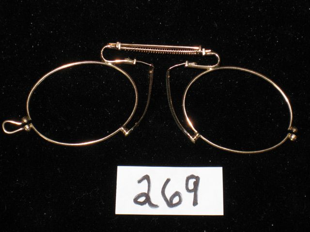 Antique Solid Gold 14K Eyeglasses