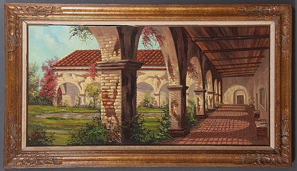 CARL VALENTE (American b. 1928), San Juan