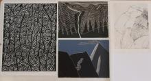 160904: Online Auction of Works on Paper and Studio Works by Indiana, American & European Artists