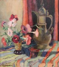 Francis F. Brown: Floral Still Life