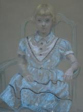 Harry Davis: Young Girl in Chair