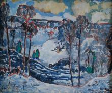 Francis F. Brown: Snowy River Valley