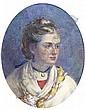 Anna Lea Merritt, 1844-1930, American HEAD AND