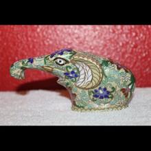 Exceptional Antique Cloisonne Elephant
