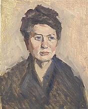 Leon Abramowicz - Portrait Mrs Maria Abramowicz