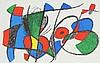 Joan Miró i Ferrà, original lithography