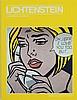 Roy Lichtenstein, exhibition catalogue, signed, Roy Lichtenstein, €90