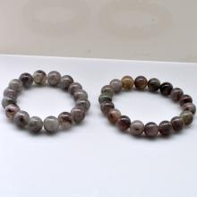 Pair of Jade Bead Bracelets