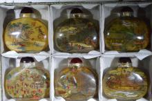 Six Liuli Snuff Bottles