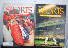 ISSUE 1 & 2 SPORTS ILLUSTRATED MAGAZINES