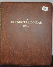 COMPLETE EISENHOWER DOLLAR SET - 1971 T0 1978