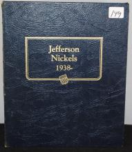 JEFFERSON NICKEL COLLECTION - 1938 TO 1997