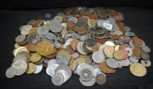100'S OF FOREIGN COINS