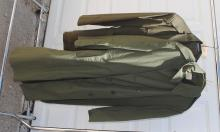 U.S. MARINE CORPS UNIFORM & TRENCH COAT