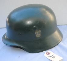 WW II GERMAN NAZI HELMET