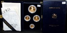1994 FOUR PIECE GOLD BULLION