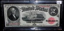 $2 LEGAL TENDER - RED SEAL - LARGE SIZE -1917