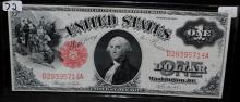 $1 LEGAL TENDER - LARGE SIZE - SERIES 1917
