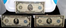 $5, $10 & $20 FEDERAL RESERVE NOTES SERIES 1914