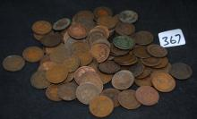 100 INDIAN HEAD PENNIES FROM SAFE DEPOSIT