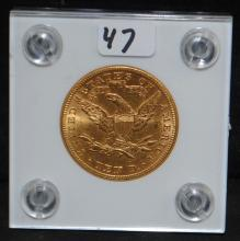 1897 $10 LIBERTY GOLD COIN FROM SAFE DEPOSIT