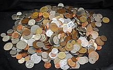 LARGE GROUP OF FOREIGN COINS FROM SAFE DEPOSIT