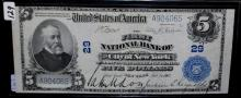 $5 NATIONAL CURENCY