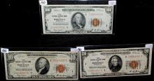 $100, $20, $10 NATIONAL CURRENCY