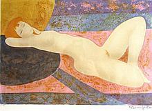 Alain Bonnefoit, nude