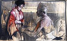 Nico Vrielink (1958), Initiarion in Bali