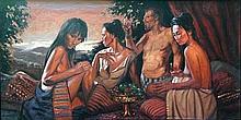 Nico Vrielink (1958), Dejeuner sur L'Herbe en Bali