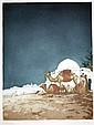 Isidore van Mens (1890 - 1985), 'Soir a Kairoua'