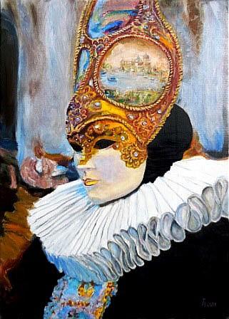 Hubertine Heijermans (1936), Carnaval Venice, 2011