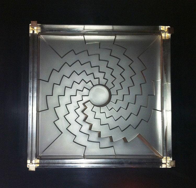 Marcello Morandini (1940), Foro Geometrico, 1986