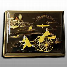 Lacquer photo album, early 20th century