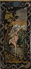 Ecole Française à l'imitation de la tapisserie du XVIIème siècle.