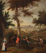 Ecole Flamande vers 1750, entourage de Peter Tielmens.