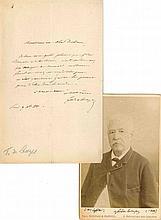 Ferdinand de LESSEPS (1805-1894) ingénieur et dipl