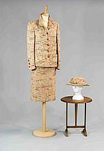 CHANEL Haute Couture n°62554 et 62553, Jean BARTHET, circa 1956/1960. Taill