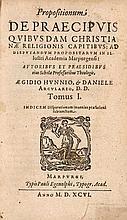 Hunnius, Aegidius Daniele Arculario. Propsitionum