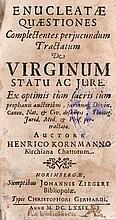 Kornmann, Heinrich Enucleatae quaestiones