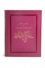 Gautier/Walser, Maupin 1913With numerous coloured vign. and 10 orig. colour lithographs by Karl Walser on plates. Orig. calf with blind-tooled spine and front decorations, gilt cover drawing by K. Walser, top edge gilt (slightly stained and rubbed).