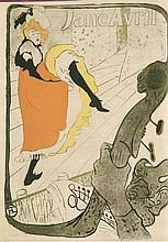 Joyant, Maurice Henri de Toulouse-Lautrec 1864-1901. 2 Bde. (Bd. 1: Peintre - Bd. 2: Dessins, Estamps, Affiches). Paris 1926-27. 4° 588 S. Mit 2 Original-Radierungen, 262 Textabb. u. 106 (davon 22 farb. ) Lichtdrucktaf. Rote Halbmaroquinbde. mit