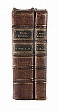 Fielding, Henry The History of Tom Jones, a Foundling. 3 Bde. (in 2). Edinburgh, Darling for Anderson, 1780. Ldrbde. d. Zt. mit 2 RSchd. (etwas berieben u. leicht fleckig, etwas wurmspurig).
