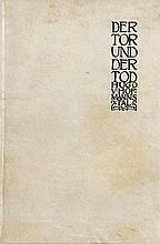 Hofmannsthal, Hugo von Der Tor und der Tod. Leipzig, Insel, o.J. 32 S. Kl.-8°. Privater (?) Pgt.-Einband mit hs. DTitel.