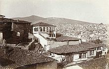 Sammlung von 62 OPhotographien (Vintages, überwiegend Kollodium Abzüge) aus Mazedonien. Format meist ca. 9 x 14 cm.