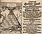 Lebens-und Sterbens-Lauff ... deß ... Herrn Philipp Wilhelm, Pfalz-Grafen bey Rhein ... Mit 1 Holzschnitt Frontispiz u. Holzschnitt Buchschmuck. Dillingen, J.C. Beneards 1690. 13 Bll. 112 S., 1 Bll. - KL.-8°. Prgt. d. Zt. mit Textilbändern (etwas