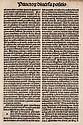 Psalterium. - Bruno, episcopus Herbipolense: Psalterium. Gotische Type in mehreren Größen, zwei- und dreispaltiger Druck, 52 Zeilen (Kommentar). Nürnberg, Koberger, 1497. 170 nn. Bll. (es fehlen die weissen Bll. 171 u. 172) 4°. Blindgeprägter Hldr.